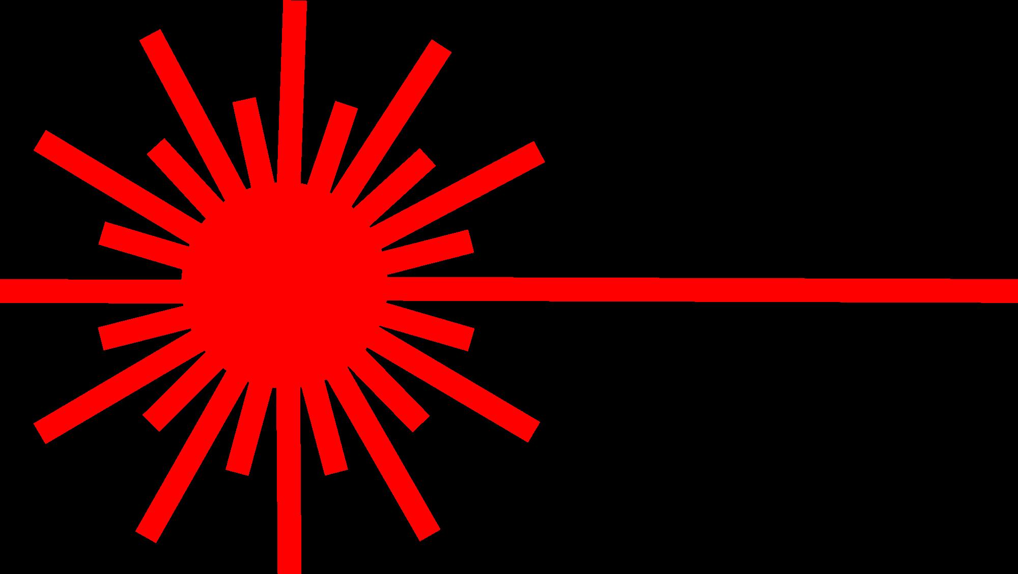 Sensor med laser